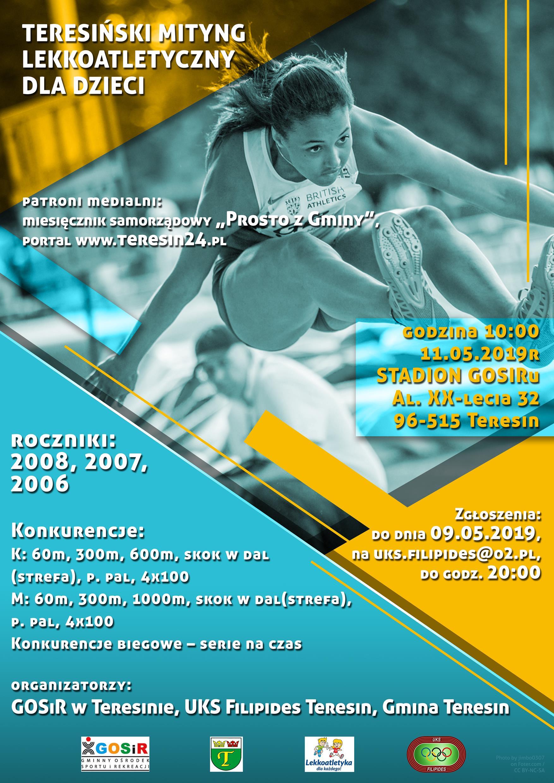 plakat-teresinski-mityng-lekkoatletyczny-dla-dzieci-2019